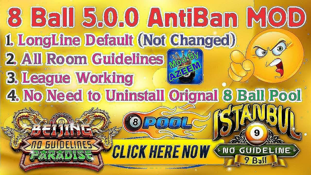 8 Ball Pool Latest Mod v5.0.0 Apk - Latest Anti-Ban Mod ...